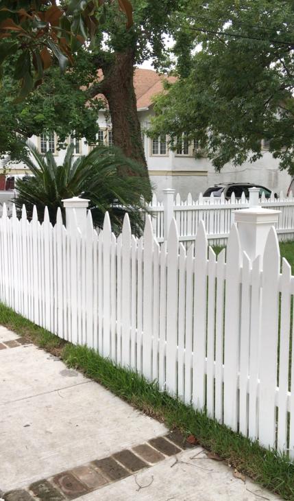 2004 Fence design After